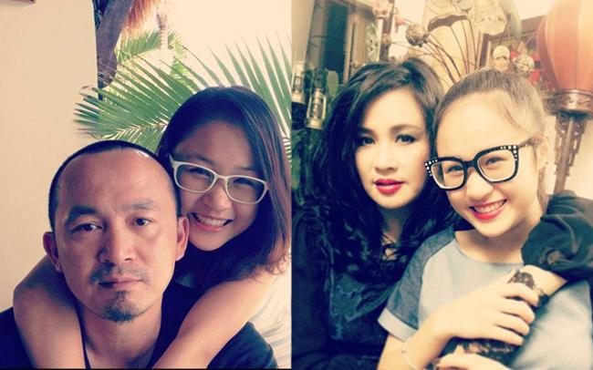 """Nhan sắc hot girl của con gái """"nữ hoàng wushu"""" Thúy Hiền, diva Mỹ Linh – Thanh Lam"""