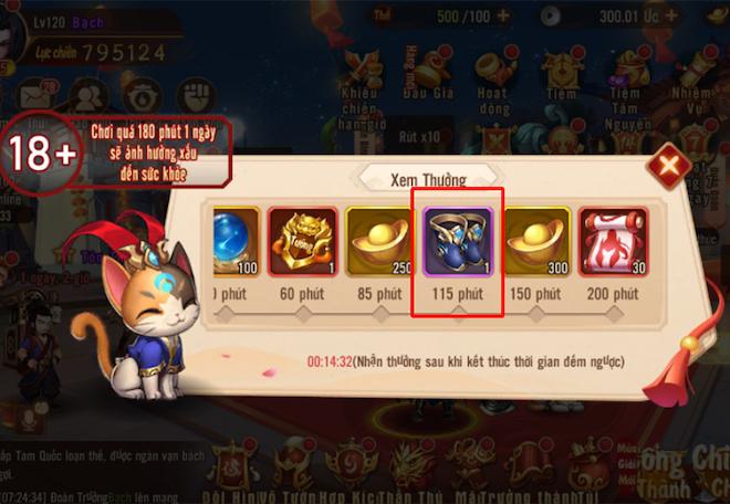 Thêm một siêu phẩm game Tam Quốc đến tay game thủ Android và iOS