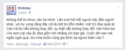Toàn Shinoda qua đời đột ngột – Cư dân mạng Việt Nam sốc
