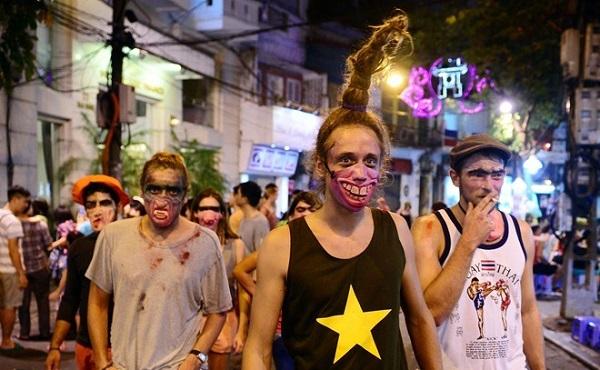 Giới trẻ Việt cháy hết mình trong đêm hội Halloween