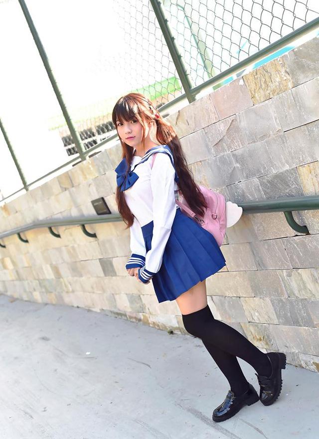Ngắm bộ ảnh bạn gái Việt cosplay nữ sinh tuyệt đẹp, đến nỗi ai cũng tưởng girl Nhật Bản