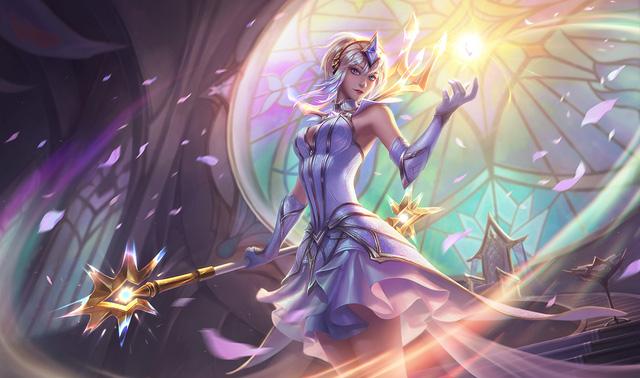 Ngỡ ngàng trước bộ ảnh cosplay tuyệt đẹp về cô nàng Lux Thập Đại Nguyên Tố