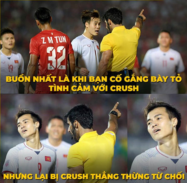 Loạt ảnh chế hài hước AFF Cup 2018 của cộng đồng mạng Việt Nam