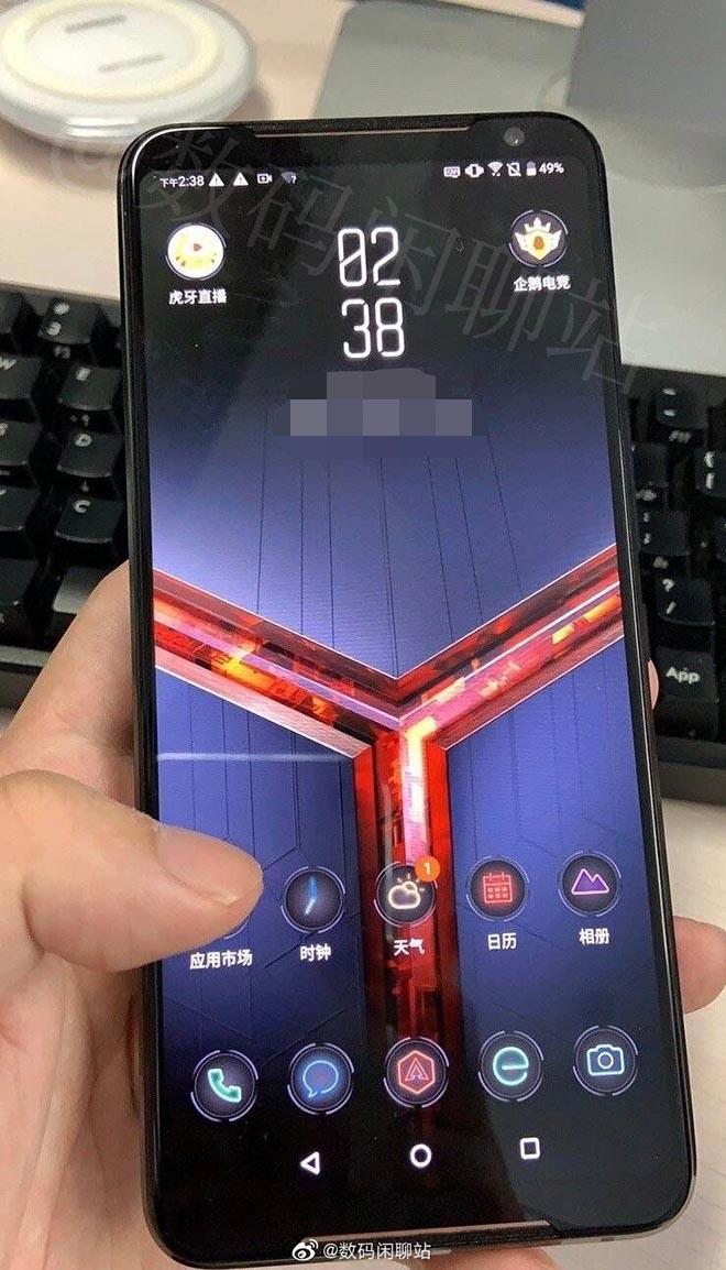 Đây chính là cái nhìn đầu tiên của siêu phẩm chơi game ROG Phone 2?