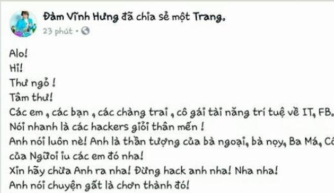 Những người nổi tiếng ở Việt Nam từng bị hack Facebook có dấu tích xanh