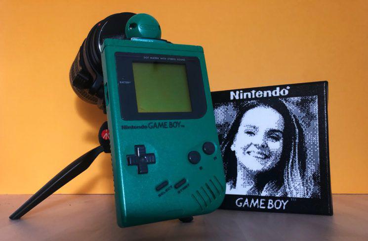 """Máy chơi game cổ được """"phù phép"""" thành máy ảnh chụp chân dung kỳ thú"""