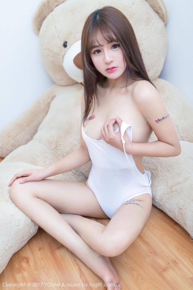 Ngộp thở với vòng một căng tròn gợi cảm của cô nàng Sukii siêu dễ thương