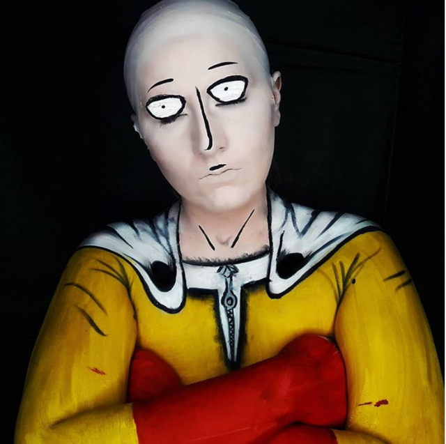 """One Punch Man: Cạn lời khi ngắm loạt ảnh cosplay Saitama, thấp bé nhẹ cân đến """"chuyển giới"""" cũng có"""
