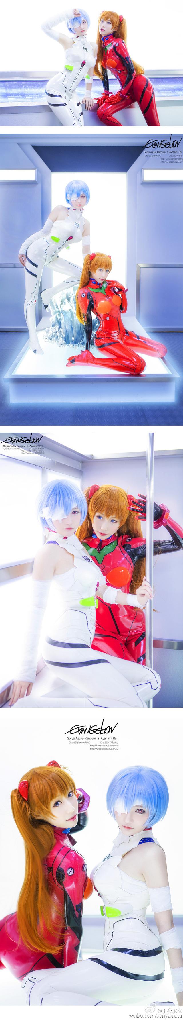 Bất ngờ với bộ ảnh cosplay tuyệt đẹp của 2 kiều nữ Evangelion