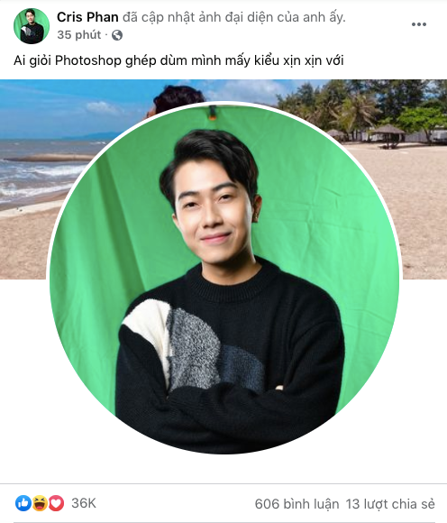 Nhờ cộng đồng mạng photoshop, Cris Phan bị các thánh chỉnh ảnh đến xanh cả mặt, trọc cả tóc