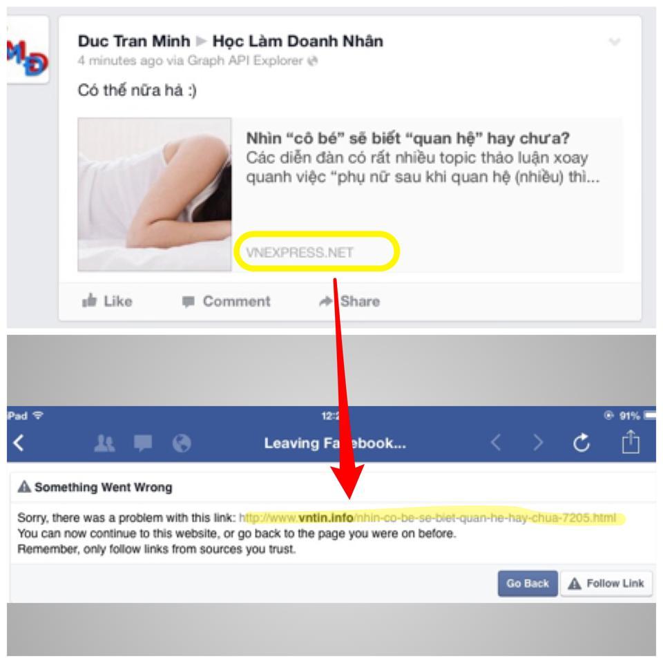 Người dùng Facebook tiếp tục đau đầu vì nhiều trang tin tức giả xuất hiện