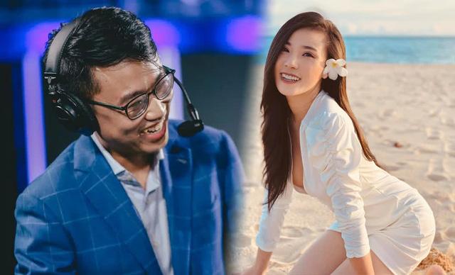 """BLV Hoàng Luân tiết lộ bóng hồng quyến rũ """"ngang kèo"""" với Mai Dora của Free Fire từng suýt trở thành MC VCS"""
