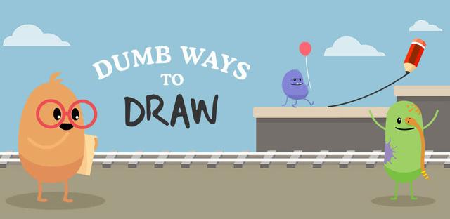 Dumb Ways to Draw – phiên bản thú vị tiếp theo của tựa game hài hước Dumb Ways to Die!