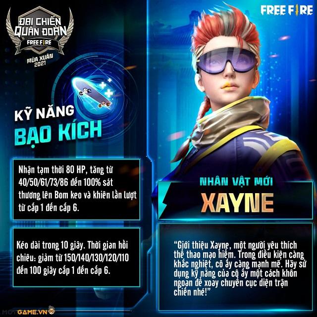 """Trợ thủ và vũ khí nào sẽ thích hợp với """"kẻ khắc chế Chrono"""" Xayne?"""