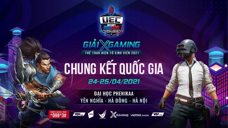 XGaming – UEC 2021: Lịch thi đấu Chung Kết Quốc Gia PUBG Mobile & Tốc Chiến