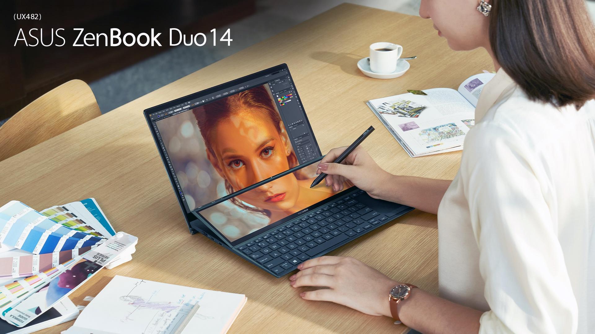 Asus ra mắt ZenBook Duo 14 2 màn hình cho game thủ và nhà sáng tạo nội dung