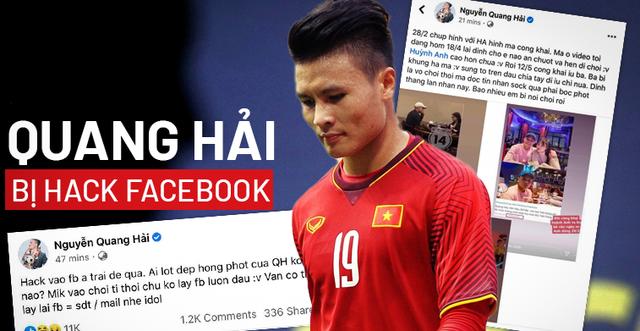 HLV Chu Đình Nghiêm nói gì về việc Quang Hải bị hack facebook?
