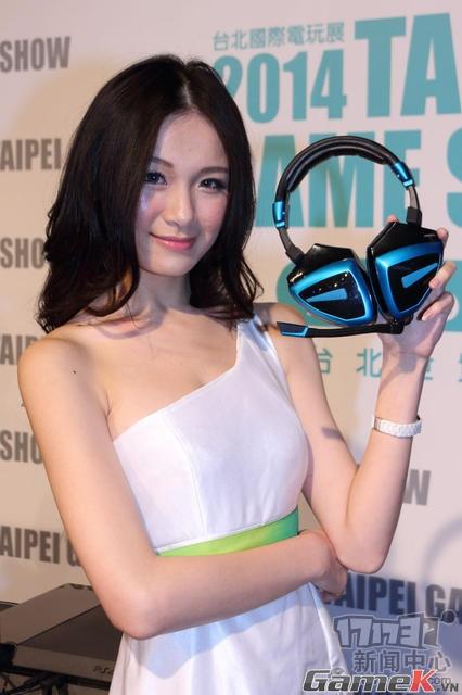 Tập hợp những showgirl xinh đẹp ở Taipei Game Show 2014