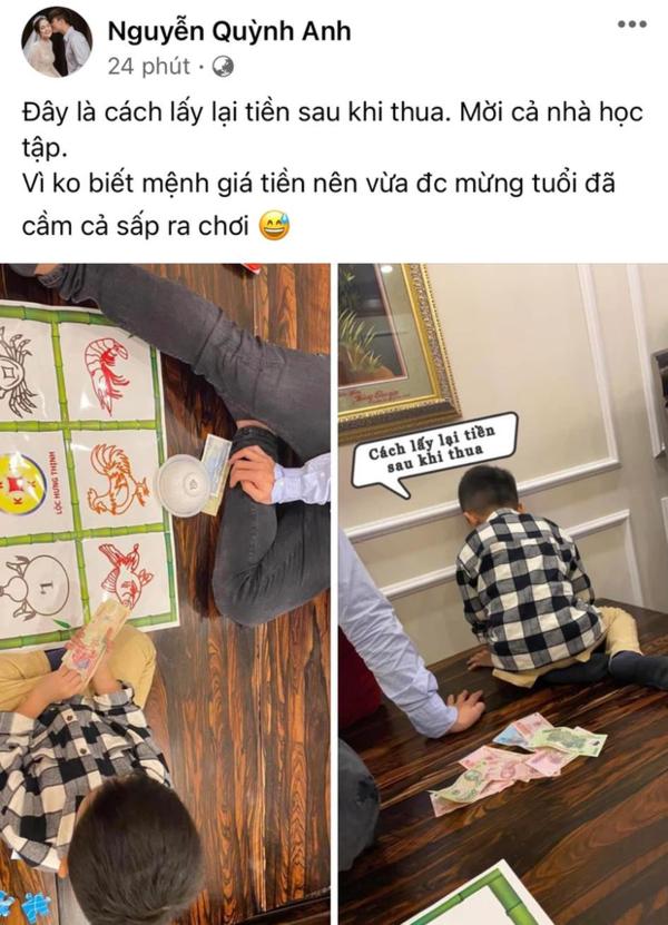 Nàng WAGs Quỳnh Anh gây tranh cãi khi khoe ảnh chơi game ăn tiền