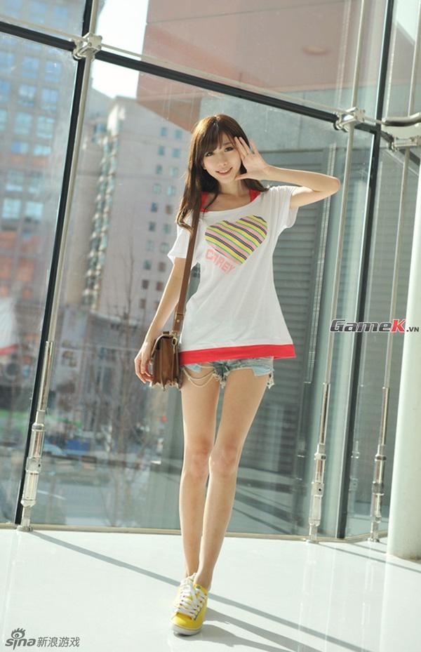 Trần Tiêu – Showgirl 9x đẹp nhất ChinaJoy 2013