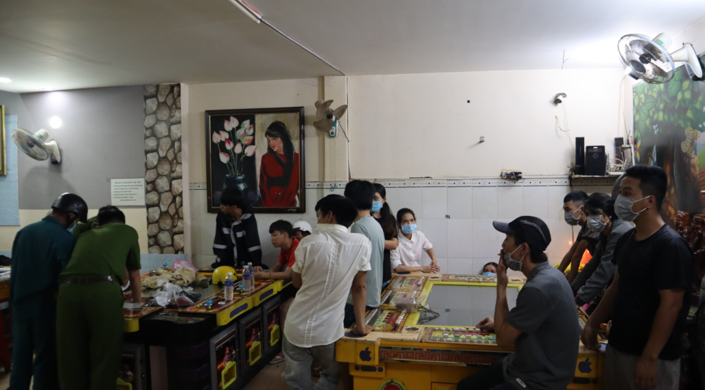 Bình Phước: Tiệm game bắn cá hoạt động bất chấp lệnh tạm dừng để phòng chống dịch Covid-19