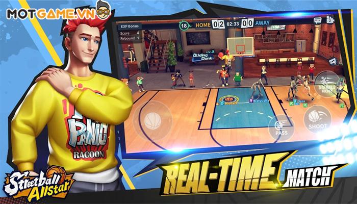 Streetball Allstar: 3vs3 eSports game hot cho dân đam mê Thể thao