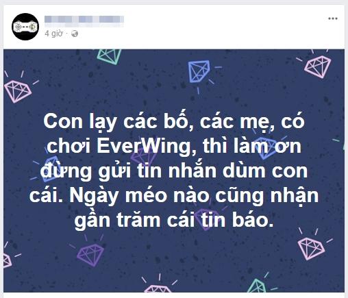 """Facebook Việt tràn ngập lời mời chơi EverWing, nhiều người khó chịu phải post status """"xin đừng nhắn nữa"""""""
