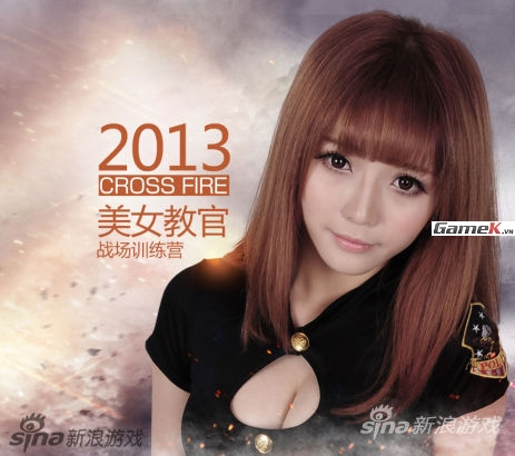 Vẻ nóng bỏng của các người đẹp đại diện Tencent Games