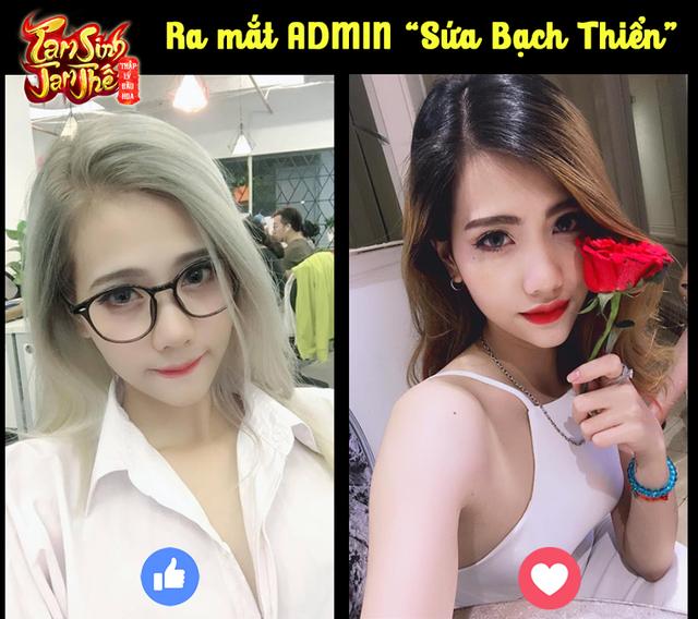 """Nữ admin Tam Sinh Tam Thế lộ diện, anh em """"suýt trớ"""" vì loạt ảnh chào hỏi cực bá đạo"""