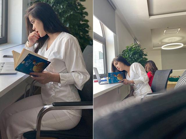 """Nữ sinh Marketing bị chụp lén ở thư viện, dân mạng lại lùng sục """"info"""" vì quá xinh"""
