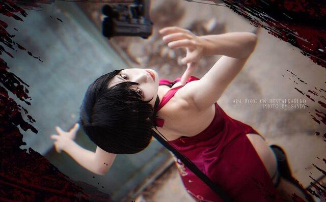 Cosplay Ada Wong xinh đẹp, nóng bỏng trong Resident Evil