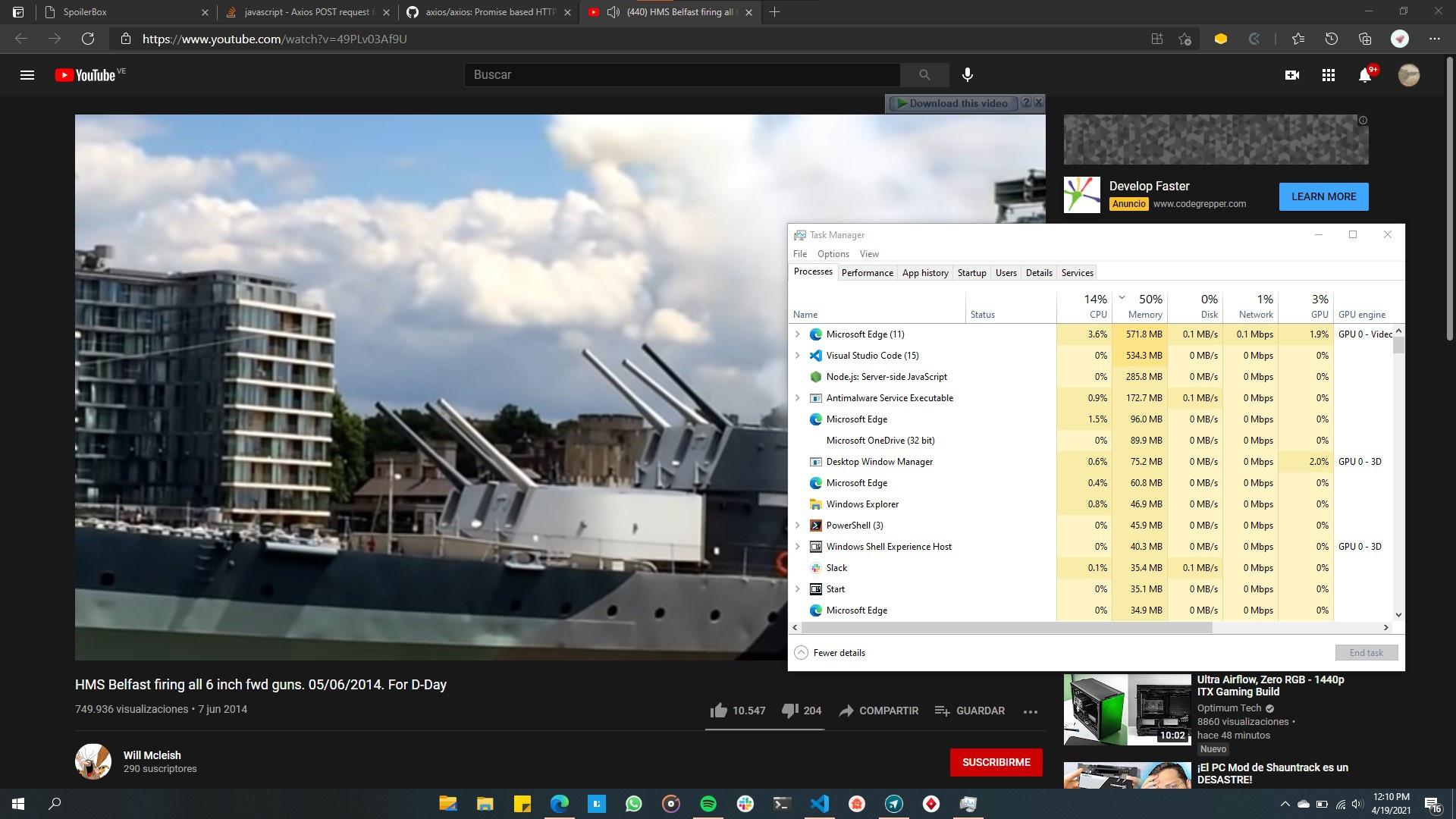 Microsoft điều tra báo cáo sự cố trình duyệt Edge của YouTube