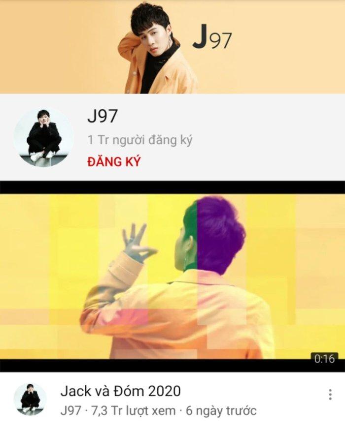 Jack bất ngờ bỏ xa kỷ lục của bà Tân Vlog, đạt nút vàng YouTube nhanh nhất Việt Nam