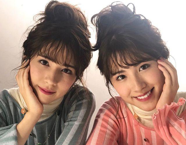 Chị em sinh đôi mang 2 dòng máu Nhật Bản – Iran