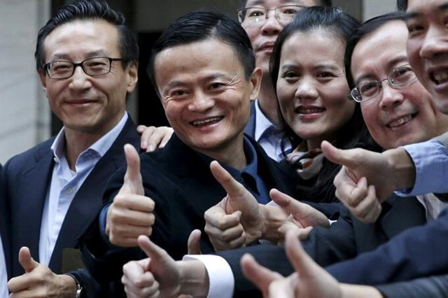 Alibaba của Trung Quốc vượt Facebook để trở thành công ty giá trị bậc nhất thế giới