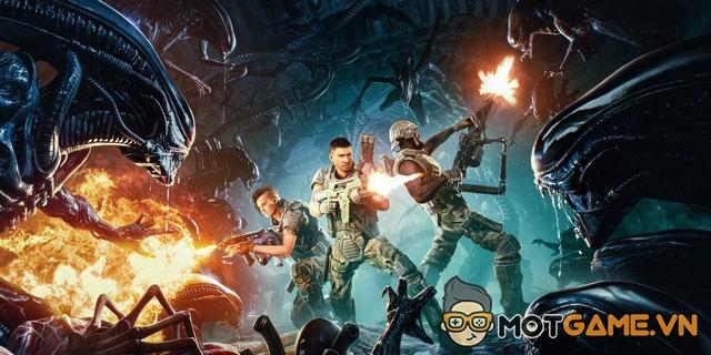 Aliens: Fireteam tung clip gameplay bắn Xenomorph cực đã tay