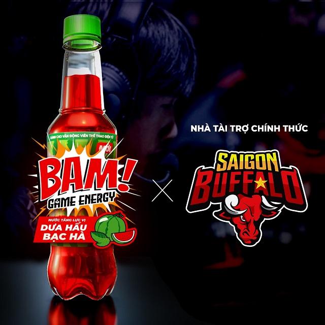 BAM Energy Vietnam: Nhà tài trợ chính thức cho đội Saigon Buffalo từ mùa giải VCS Hè 2021