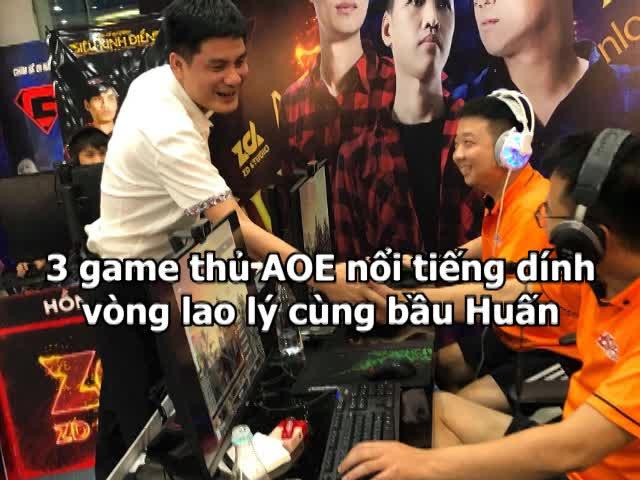 """CLIP: 3 game thủ AOE nổi tiếng dính đường dây đánh bạc """"khủng"""""""