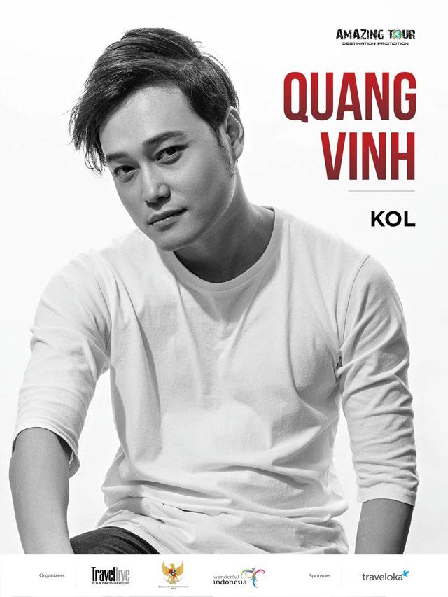 """Ca sĩ Quang Vinh, người mẫu Thiên Trang cùng thăm quan """"hòn đảo thiên đường"""" Bali"""