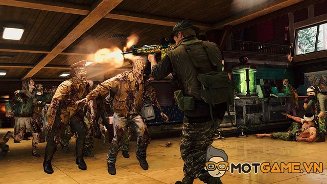 Call of Duty: Black Ops Cold War Zombies Outbreak tung trailer hấp dẫn