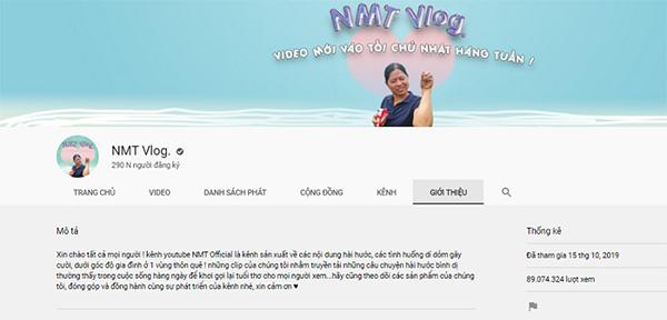 Chú ngựa ô NMT Vlog với mục tiêu không là nút vàng Youtube