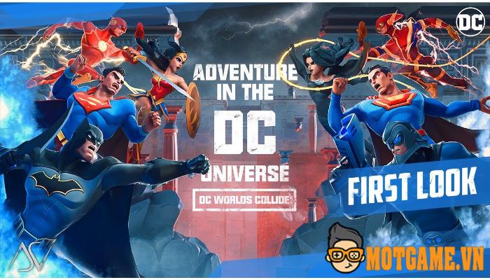 DC Worlds Collide – Cùng gặp lại các siêu anh hùng trong trận chiến giải cứu Trái Đất