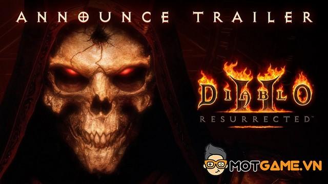 Diablo 2: Resurrected sẽ được phát hành ngay trong năm nay
