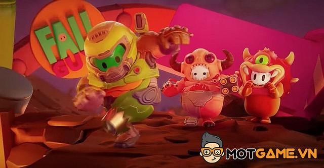 Fall Guys và những 'kẻ diệt quỷ' dễ thương đến từ Doom Eternal