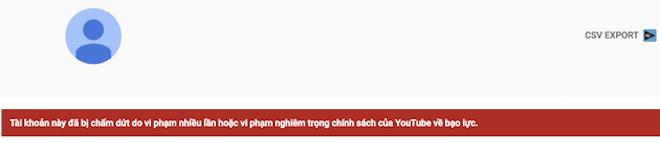 Dương Minh Tuyền lần thứ 2 bị khóa kênh Youtube hơn 600.000 lượt theo dõi