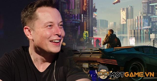 """Elon Musk """"châm chọc"""" Cyberpunk 2077 vì không có xe tự lái"""