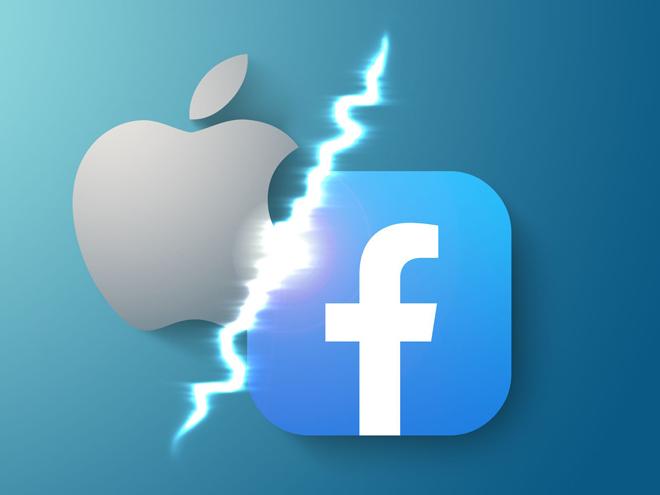 """Facebook lại diễn trò """"nước mắt cá sấu"""" trong cuộc chiến với Apple"""
