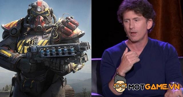 Fallout 76: Todd Howard thừa nhận sai lầm của Bethesda