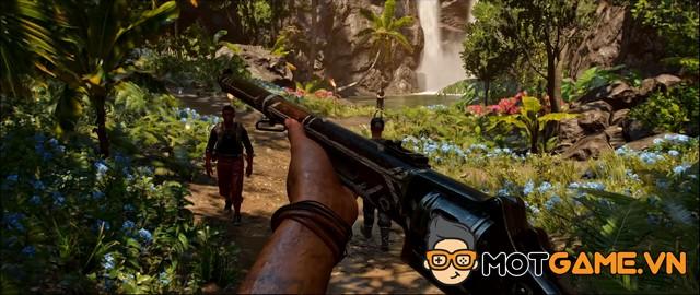 Far Cry 6 trình diễn gameplay sơ bộ cực chất, cho phép game thủ nuôi cả cá sấu!