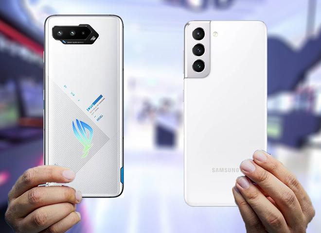 """Galaxy S21 Ultra hay Asus ROG Phone 5 chơi game """"đã đời"""" hơn?"""